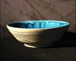 Schale blau 5