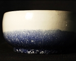 Schale blau blanco 4