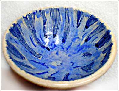 Plato azul 1